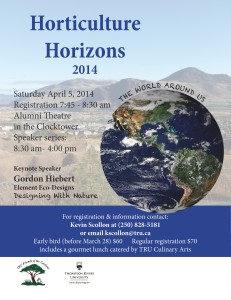 horticulture horizons poster
