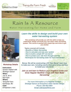 Water harvesting Kamloops 2014-1