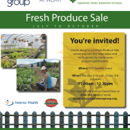 Gardengate Produce Sales Start July 21!