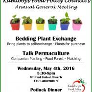 May 4th, AGM Agenda