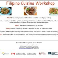 Filipino Cuisine Workshop