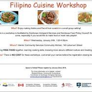 Filipino Cuisine Workshop