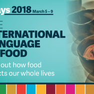 IDays 2018 – International Language of Food by Bonnie Klohn