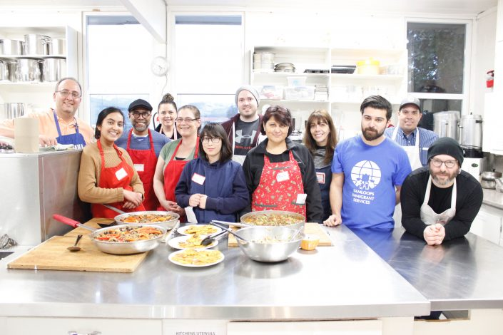 Workshop Cuban Cooking 2018, Kamloops Immigrant Services, Kamloops Food Policy Council