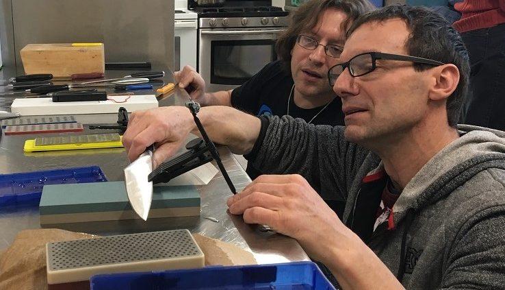 Knife Sharpening Workshop