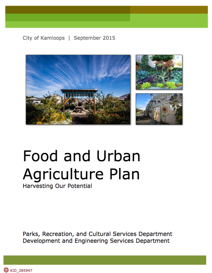 City of Kamloops Food and Urban Agriculture Plan